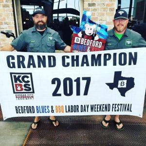 Fergolicious BBQ Bedford Blues & BBQ Festival 2017 Grand Champions