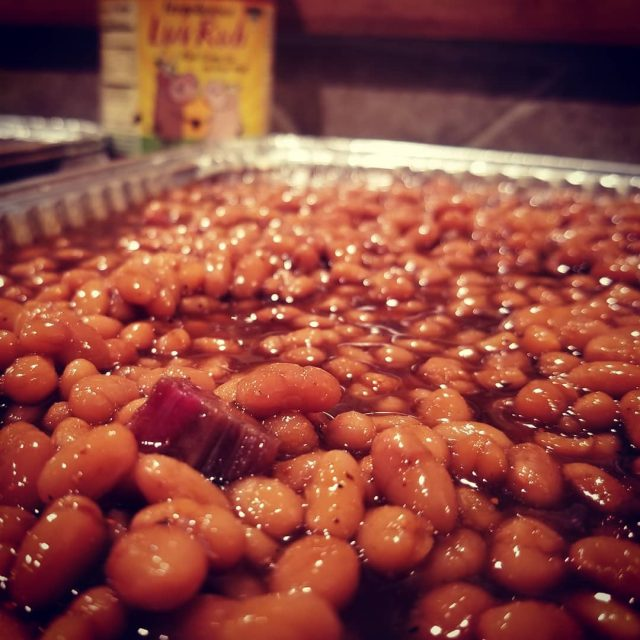 Fergolicious Top Shelf Beans loaded with brisket amp seasoned withhellip